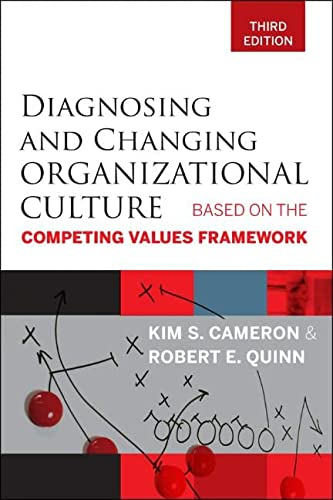 9780470650264: Diagnosing and Changing Organizational Culture: Based on the Competing Values Framework