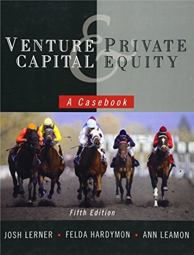 9780470650912: Venture Capital and Private Equity: A Casebook