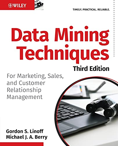 9780470650936: Data Mining Techniques: For Marketing, Sales, and Customer Relationship Management