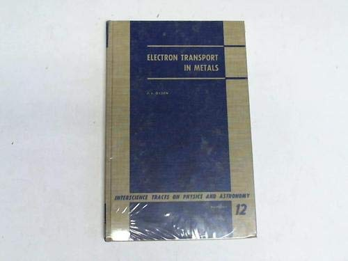 9780470653401: Electron Transport in Metals
