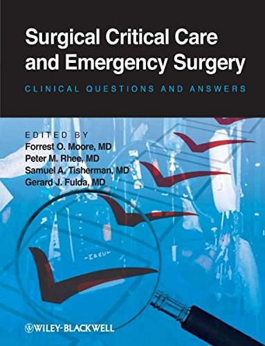 9780470654613: Surgical Critical Care and Emergency Surgery: Clinical Questions and Answers