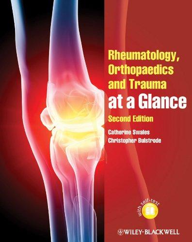 9780470654705: Rheumatology, Orthopaedics and Trauma at a Glance (At a Glance (Dentistry))