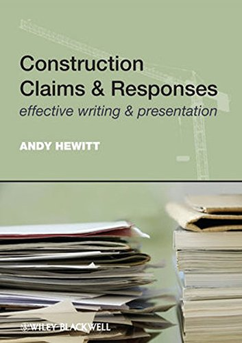 9780470654811: Construction Claims & Responses: Effective Writing & Presentation