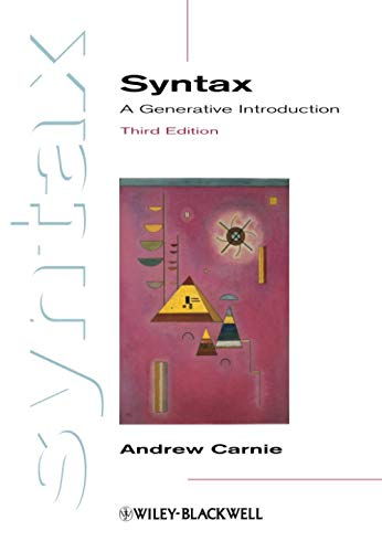 9780470655313: Syntax: A Generative Introduction