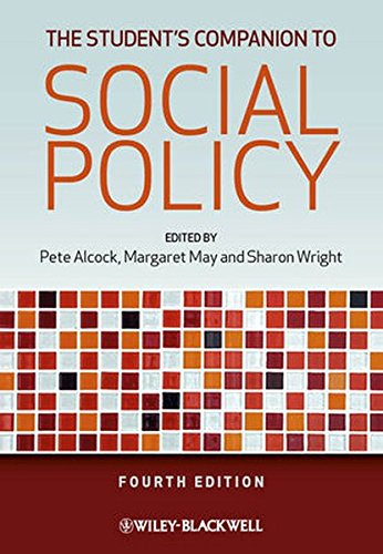 The Student's Companion to Social Policy: Pete Alcock, Margaret