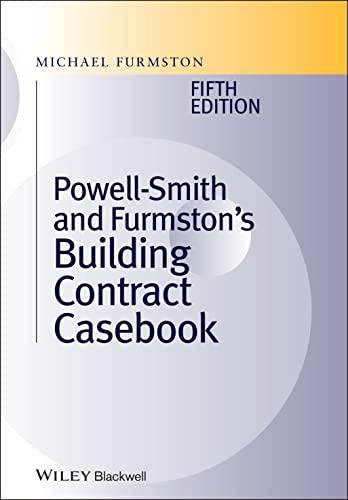9780470655924: Building Contract Casebook