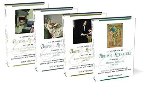 A Companion to British Literature (Hardback)