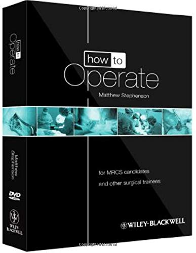 9780470657447: How to Operate: for MRCS candidates and other surgical trainees, includes 3 DVDs