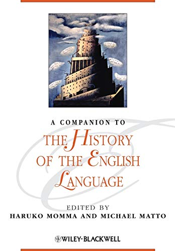 9780470657935: A Companion to the History of the English Language
