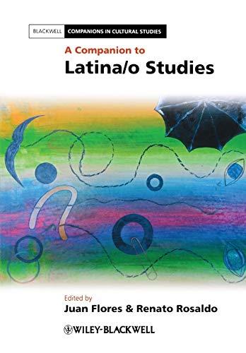 9780470658260: A Companion to Latina/o Studies