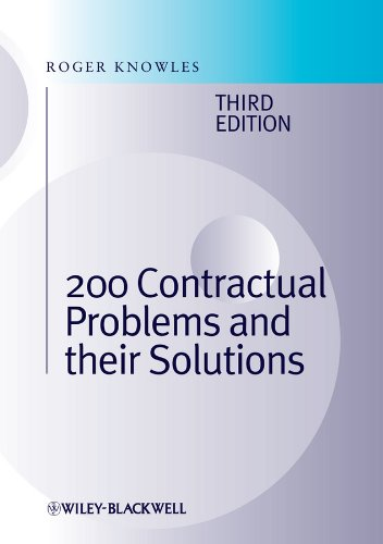 9780470658314: 200 Contractual Problems and their Solutions