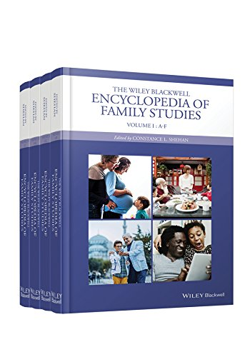 The Wiley Blackwell Encyclopedia of Family Studies: 4 Volume Set (Hardback)