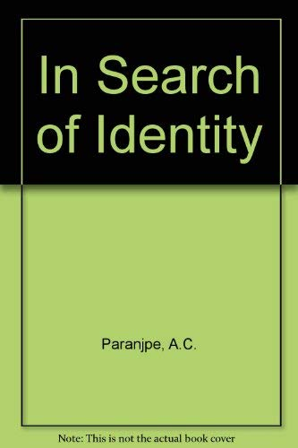 9780470658567: In Search of Identity
