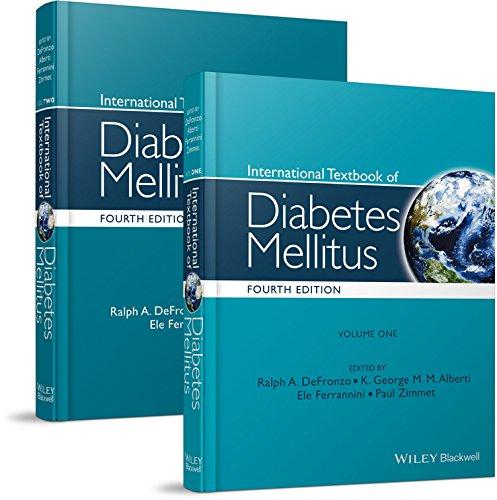 9780470658611: International Textbook of Diabetes Mellitus, 4E Two-volume Set