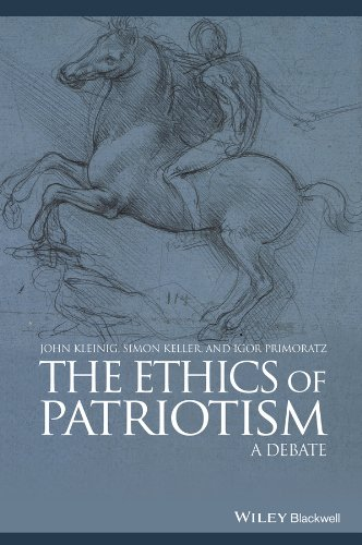 9780470658840: The Ethics of Patriotism: A Debate (Great Debates in Philosophy)