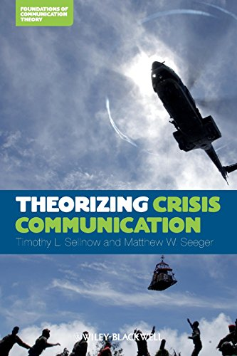 9780470659304: Theorizing Crisis Communicatio (Foundations in Communication Theory)