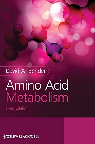 9780470661512: Amino Acid Metabolism
