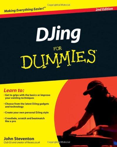 9780470663721: DJing For Dummies