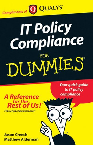 9780470665350: IT policy compliance for dummies by Jason Creech