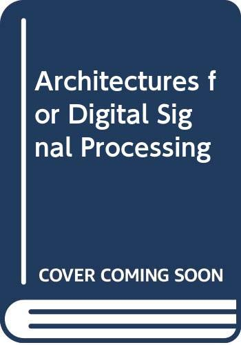 9780470665442: Architectures for Digital Signal Processing
