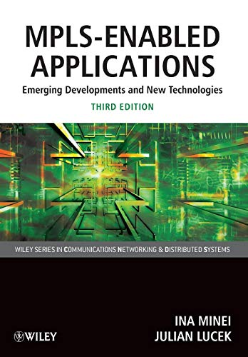 9780470665459: MPLS-Enabled Applications 3e (Wiley Series on Communications Networking and Distributed Systems)