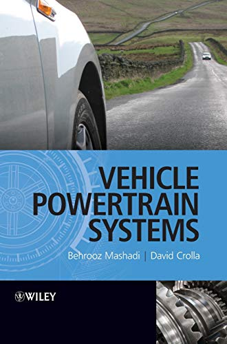 9780470666029: Vehicle Powertrain Systems: Integration and Optimization