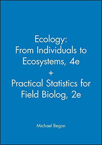 9780470667101: Ecology: From Individuals to Ecosystems