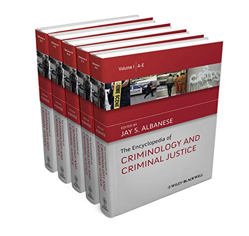 9780470670286: The Encyclopedia of Criminology and Criminal Justice (The Wiley Series of Encyclopedias in Criminology & Criminal Justice)