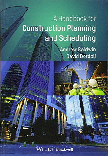 9780470670323: A Handbook for Construction Planning and Scheduling