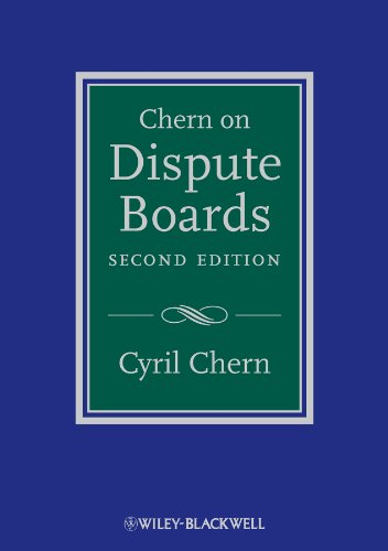 9780470670330: Chern on Dispute Boards