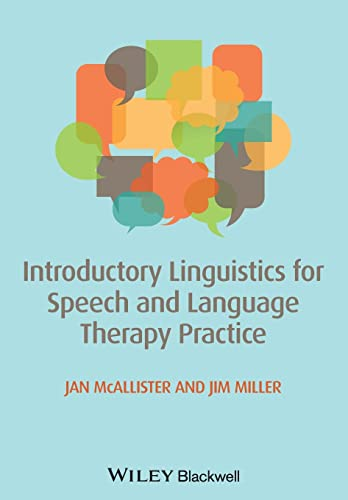9780470671108: Introductory Linguistics for Speech and Language Therapy Practice