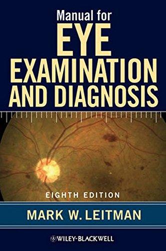 9780470671122: Manual for Eye Examination and Diagnosis