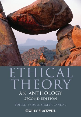 9780470671603: Ethical Theory: An Anthology