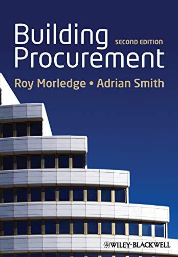 9780470672433: Building Procurement