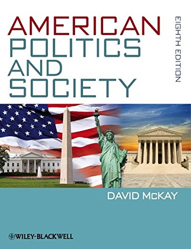 9780470672631: American Politics and Society