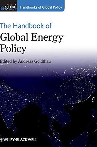 9780470672648: The Handbook of Global Energy Policy