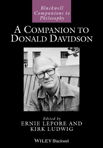 9780470673706: A Companion to Donald Davidson