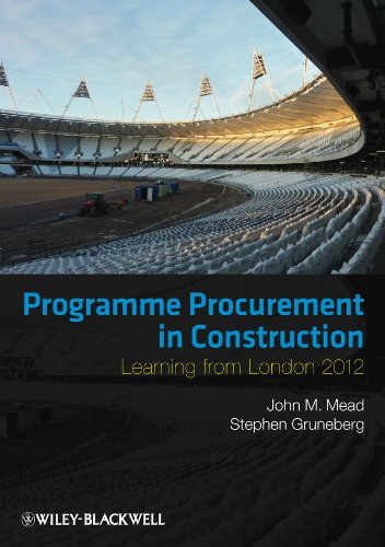 9780470674734: Programme Procurement in Construction: Learning from London 2012