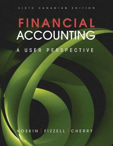 9780470676608: Financial Accounting: A User Perspective 6th Canadian Edition