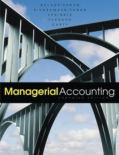 9780470677865: Managerial Accounting