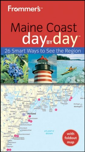 9780470678329: Frommer's Maine Coast Day by Day (Frommer's Day by Day - Pocket)