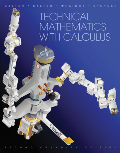 Technical Mathematics with Calculus: Calter, Michael A.