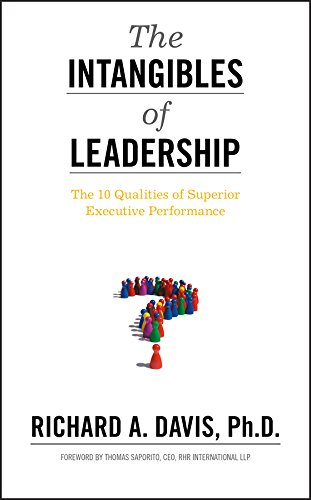 9780470679159: The Intangibles of Leadership: The 10 Qualities of Superior Executive Performance