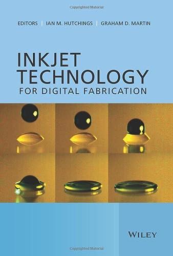 9780470681985: Inkjet Technology for Digital Fabrication