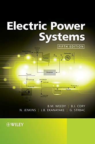 Electric Power Systems: Weedy, B./ Cory,