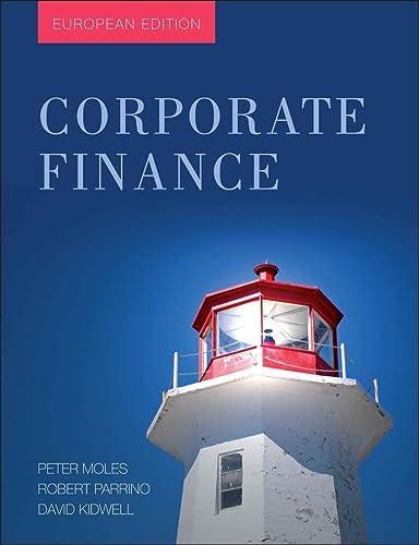 9780470683705: Corporate Finance: European Edition