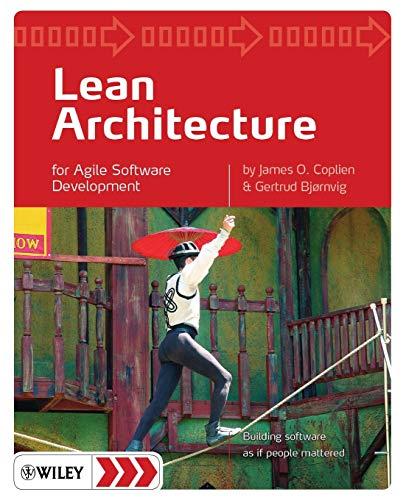 9780470684207: Lean Architecture for Agile Software Development