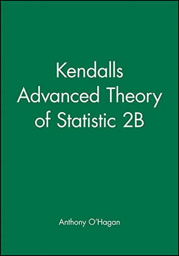 9780470685693: Kendalls Advanced Theory of Statistic 2B