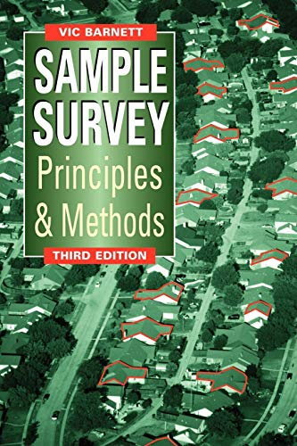 9780470685907: Sample Survey Principles and Methods