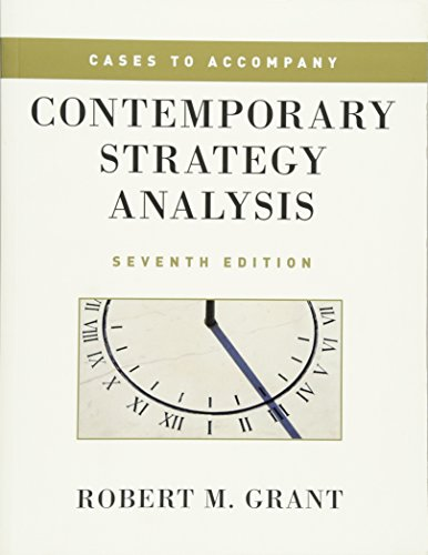 9780470686331: Cases to Accompany Contemporary Strategy Analysis
